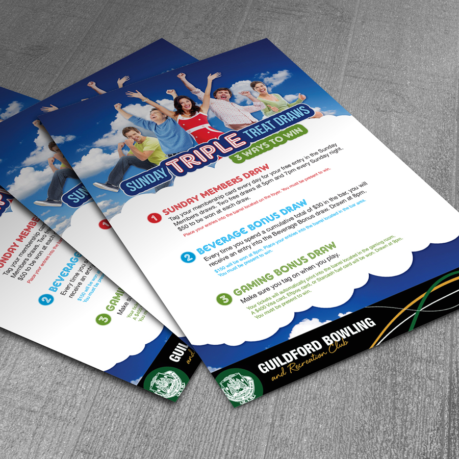 Poster and flyer design
